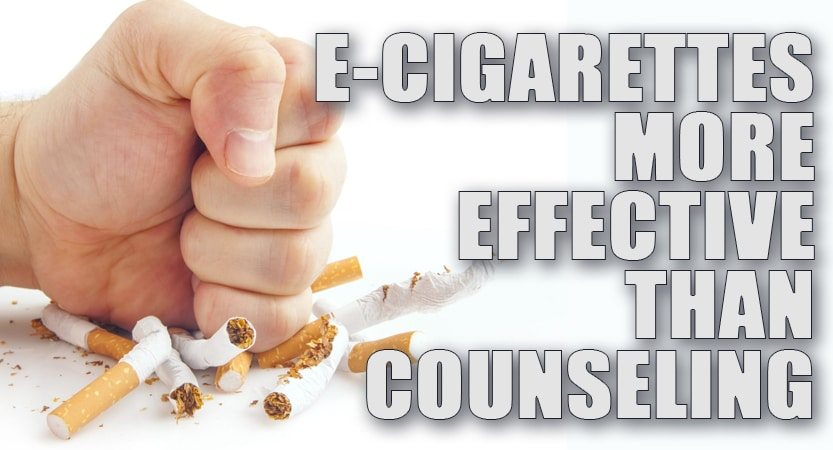 E-Cigarettes More Effective Than Counseling