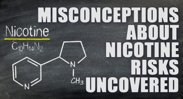 Nicotine misconception